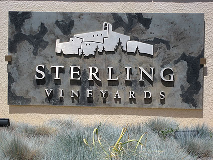 Sterling Vineyards, Napa Valley CA